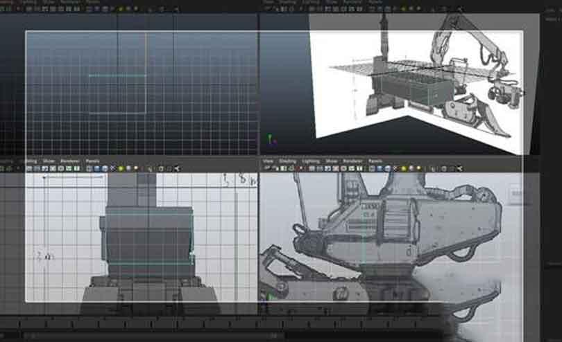 Maya工程车辆硬表面建模之添加循环