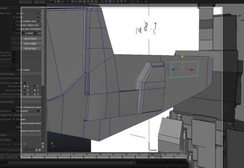 Maya工程车辆硬表面建模之圆柱体