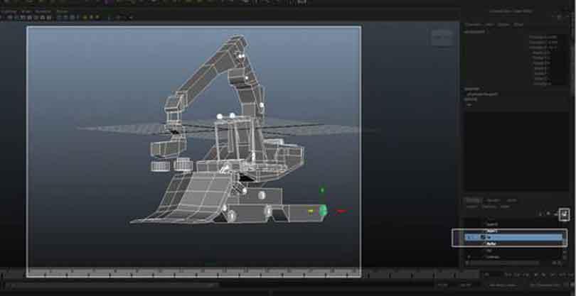 Maya硬表面建模之创建一个名为LW的新图层