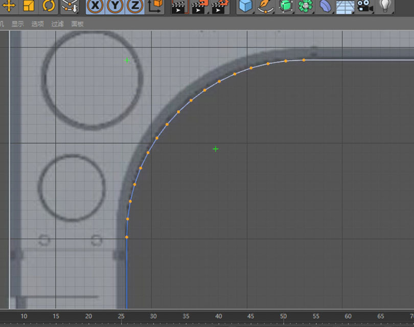 Cinema 4D硬表面建模之加个倒角和细分