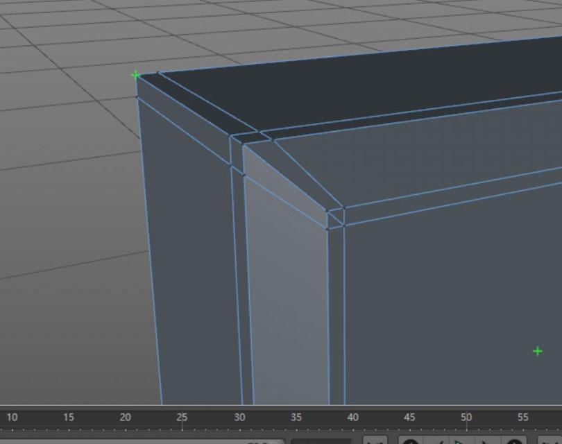Cinema 4D硬表面建模实例教程之科幻门模型的点缩放