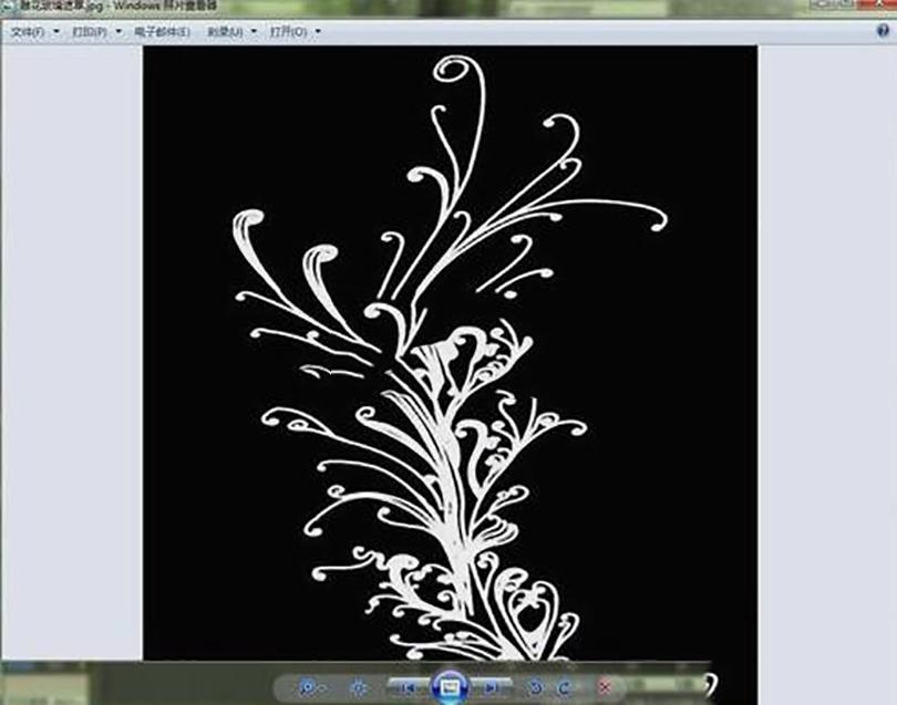 3DSMAX制作混合材质贴图的步骤之加载遮罩雕花图片文件