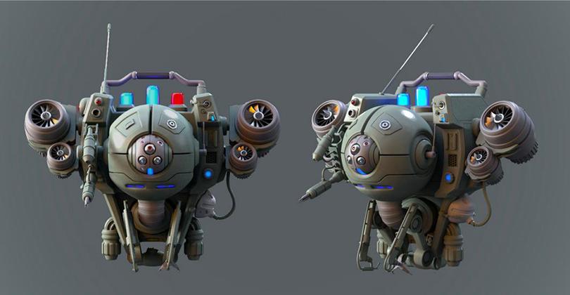 《异星战枪》写实3D游戏模型制作全流程教程讲师作品