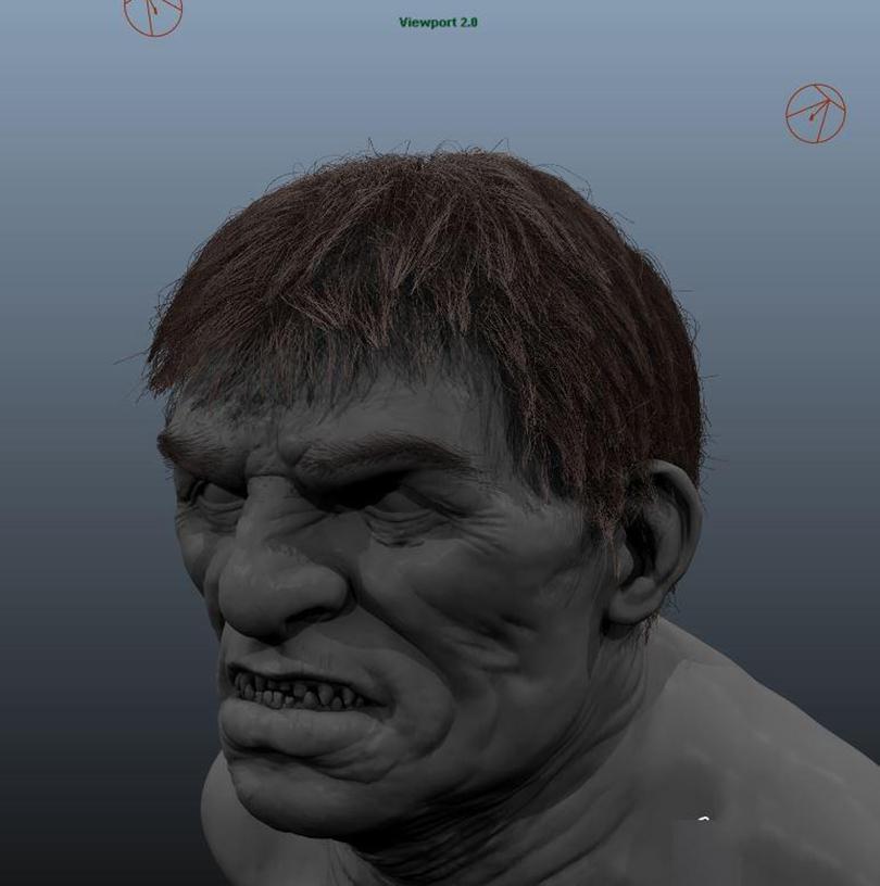Maya的xGen制作逼真的毛发效果图
