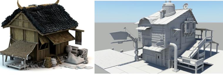 房屋模型建模