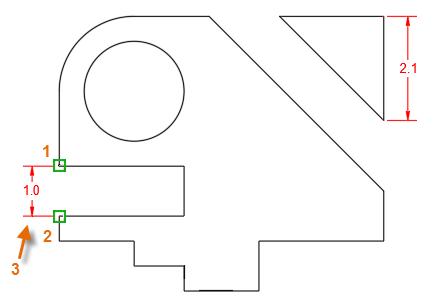 创建CAD线性标注之标注间距