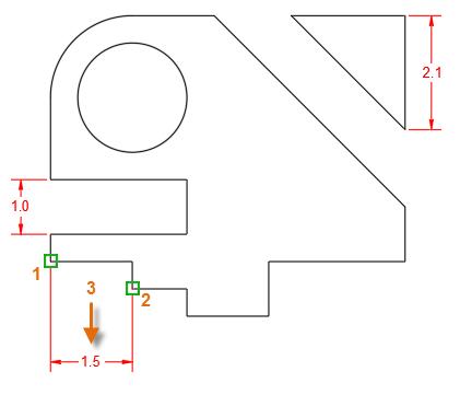 创建CAD线性标注的连续线