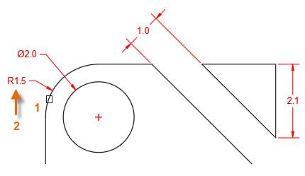 创建CAD线性标注圆角和圆