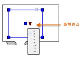 创建CAD线性标注之缩放夹点