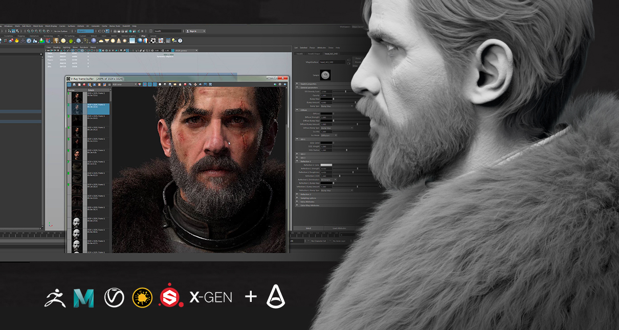 Creating an Advanced Cinematic Character - Vagrant Knight [English] - Free download
