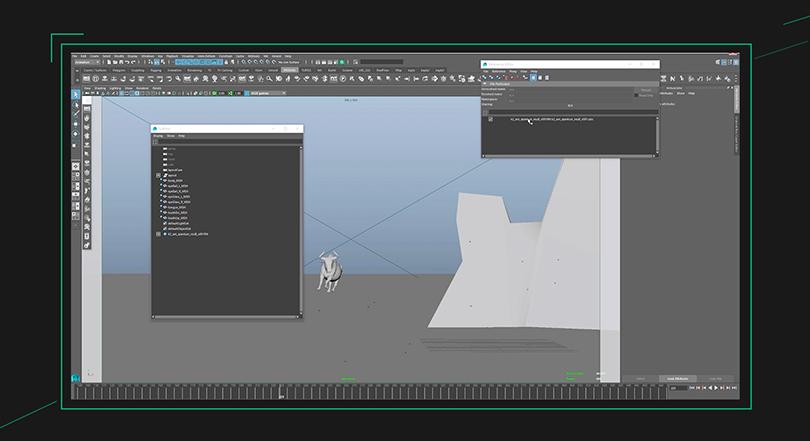 Maya跑步循环动作动画制作实例教程亮点之K2 VFX Studios 动画总监11年动画经验总结