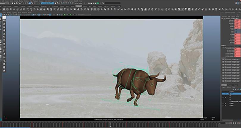 Maya影视动画跑步循环动作制作实例教程收获之制作自然循环的动画动作