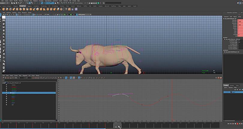 Maya影视动画跑步循环动作制作实例教程收获之学习最基础实用的电影动画商业实战