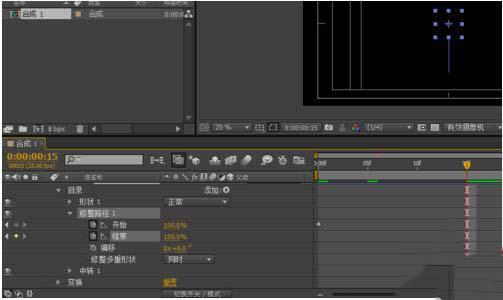 AE关键帧动画制作步骤之制作关键帧动画
