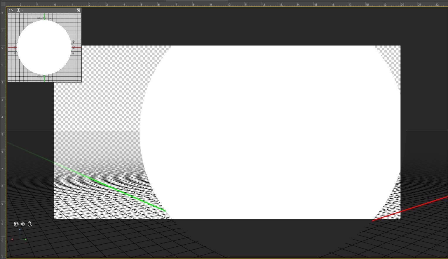 PS绘制360度VR全景图具体步骤之确认3D图层