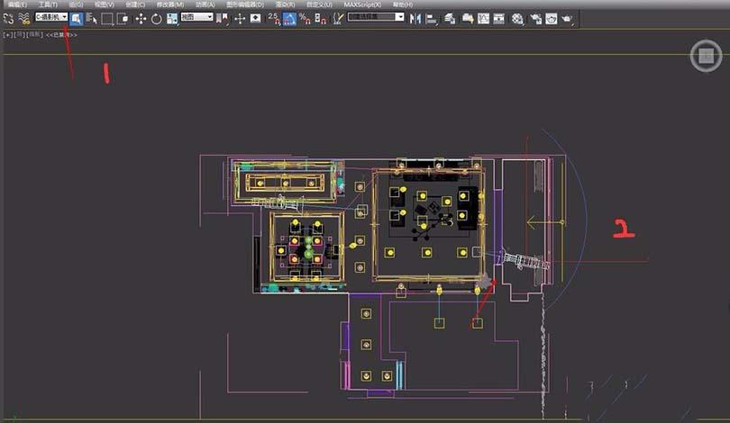 3DsMAX制作360度全景图步骤之建一个场景