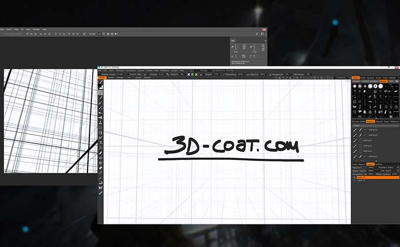 PS制作360VR全景图教程特色之2D与3D软件在VR空间的使用技巧