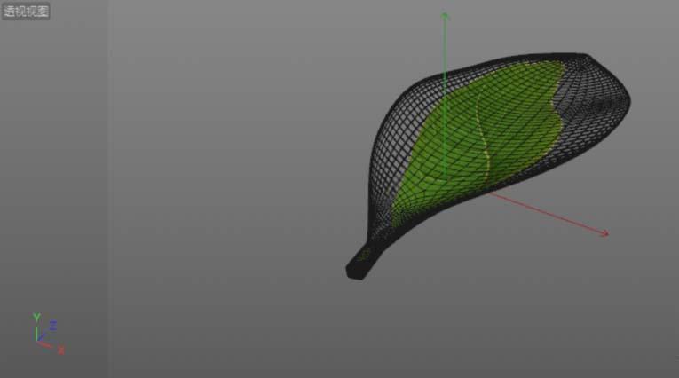 C4D给树叶添加纹理贴图的具体步骤之将叶子的贴图添加到材质颜色通道