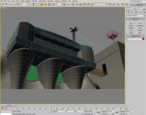 3DsMAX纹理贴图案例作品