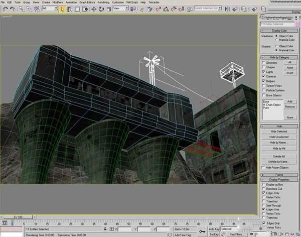 3DsMAX纹理贴图技巧之常规纹理合理划分