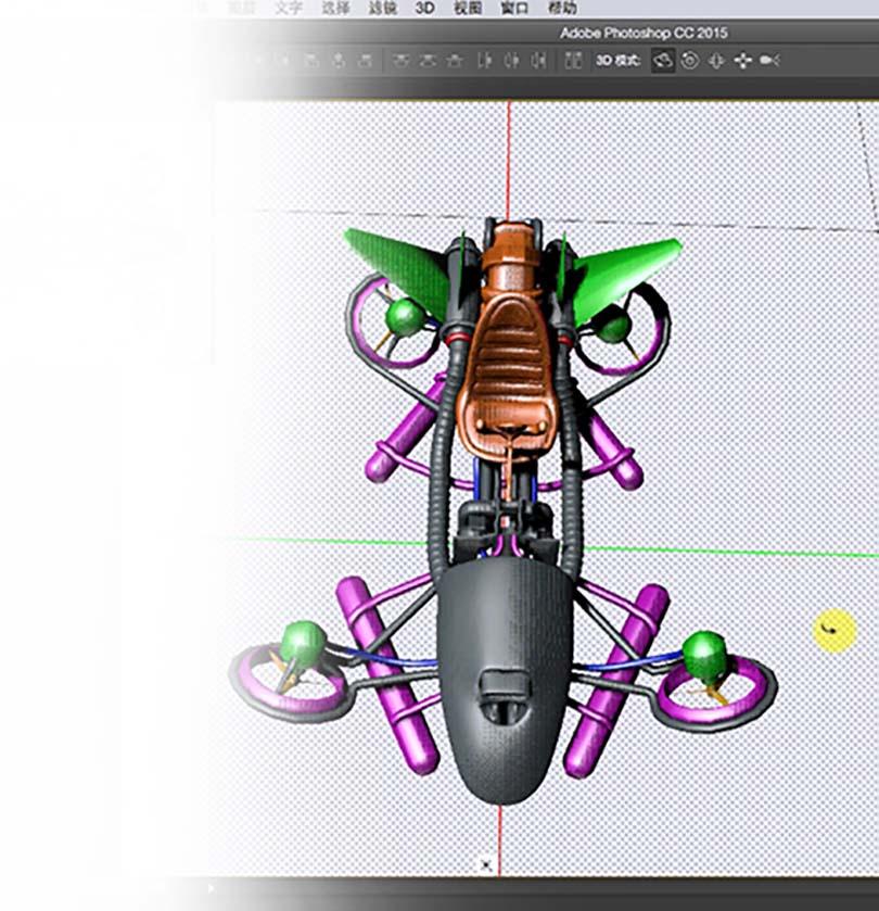PS使用3D功能设计创意海报实战教程特色之基础知识