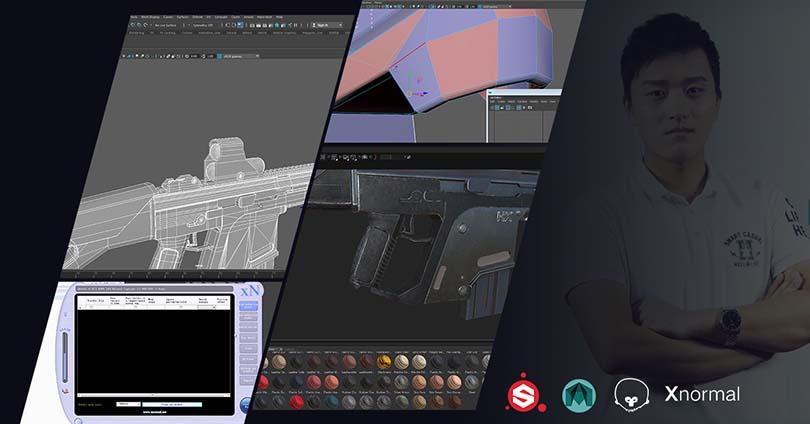 次世代游戏道具模型制作之G56突击步枪实战教程之讲师介绍