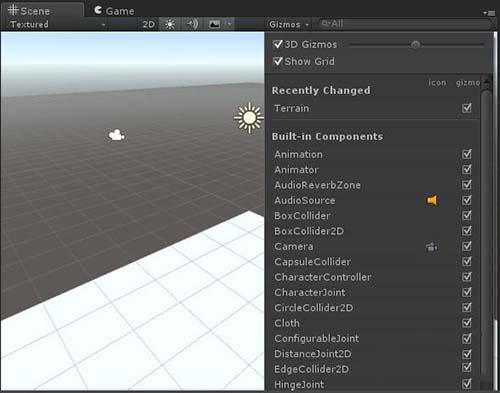 Unity动作编辑器各视图功能介绍之Scene视图
