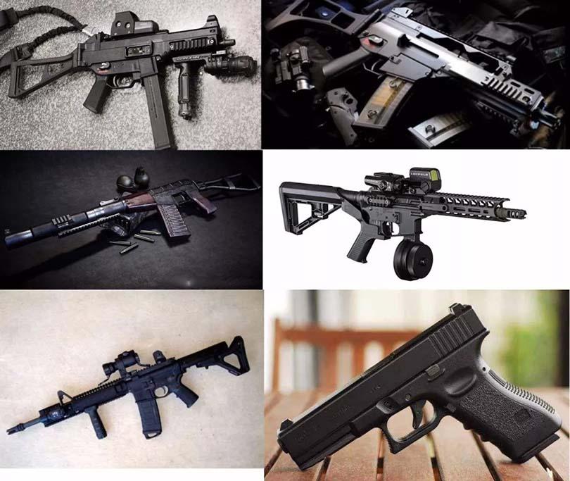 科幻枪械制作流程之素 材 收 集