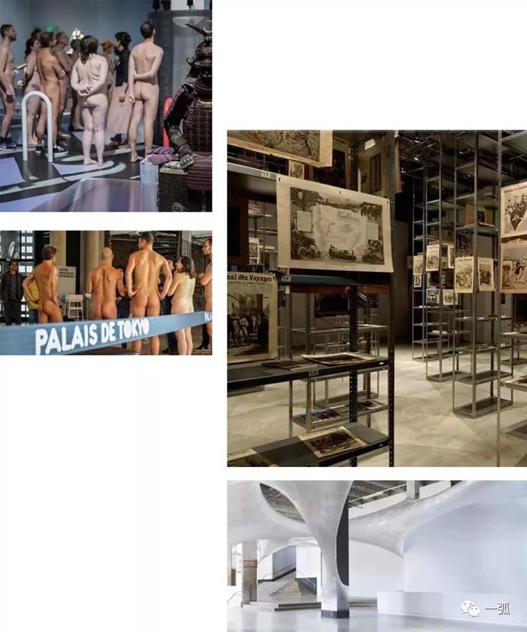 巴黎天然主义者裸观艺术展