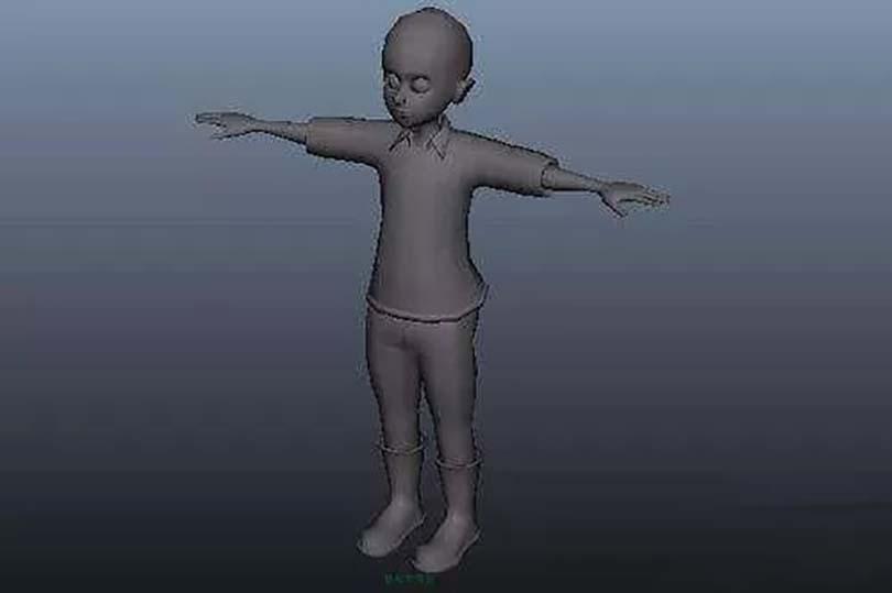 超写实影视角色模型的创建步骤之创建模型