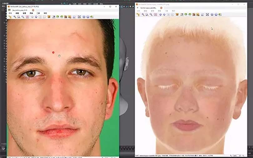 超写实影视角色模型的创建步骤之绘图制作