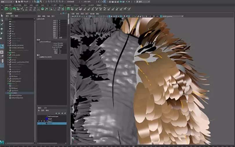 超写实影视角色模型的创建步骤之材质制作