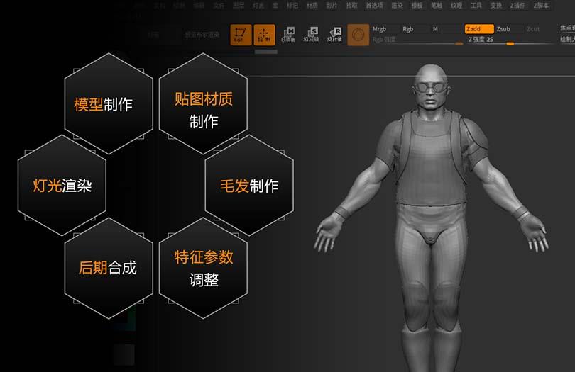 ZBrush 2018从入门到精通中文版案例教程之新功能介绍