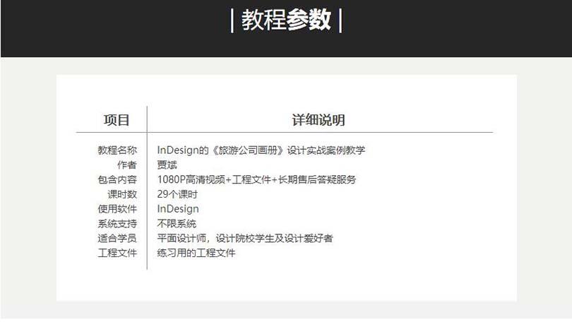 InDesign制作商业画册教程参数