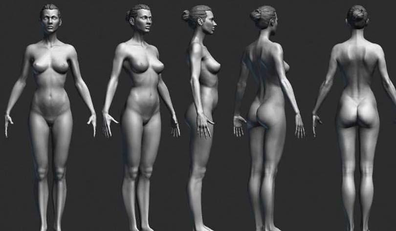硬表面角色制作流程之人体建模
