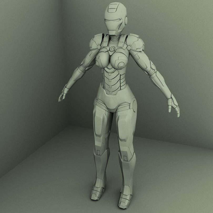 |硬表面角色制作流程之细化建模