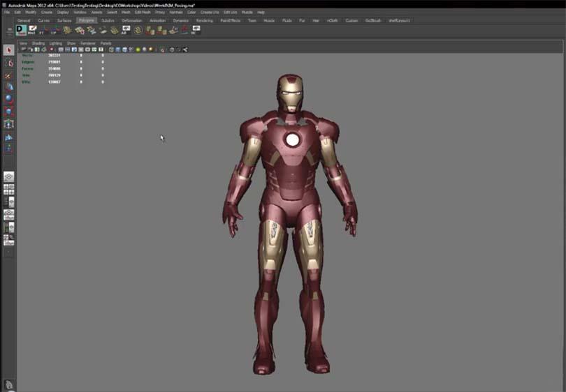 硬表面角色制作流程之贴图材质