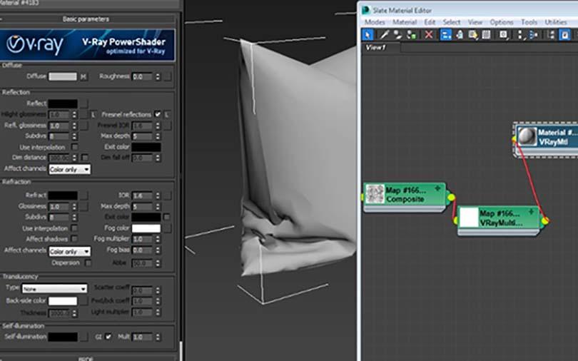 3dsMax室内场景制作步骤之素材处理细节