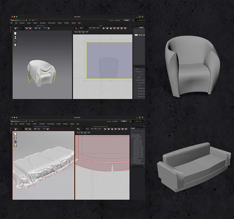 3dsMax室内场景制作教程亮点之布料运用