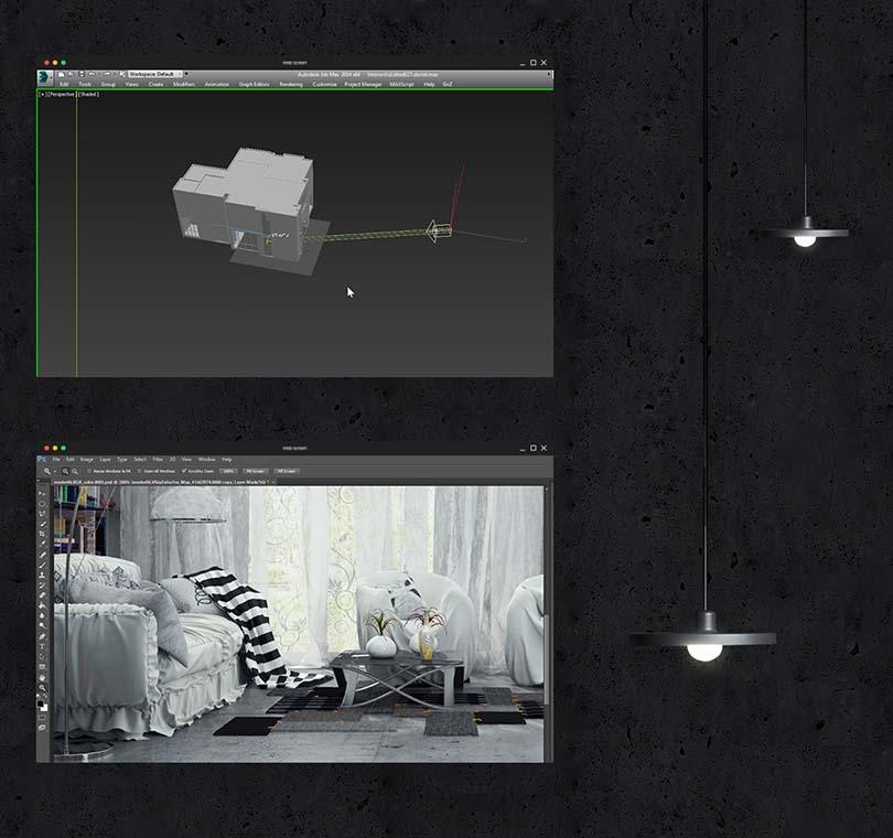 3dsMax室内场景制作教程亮点之渲染