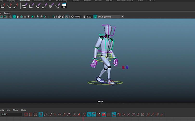 Maya三维动画制作零基础入门教程之绑定动画