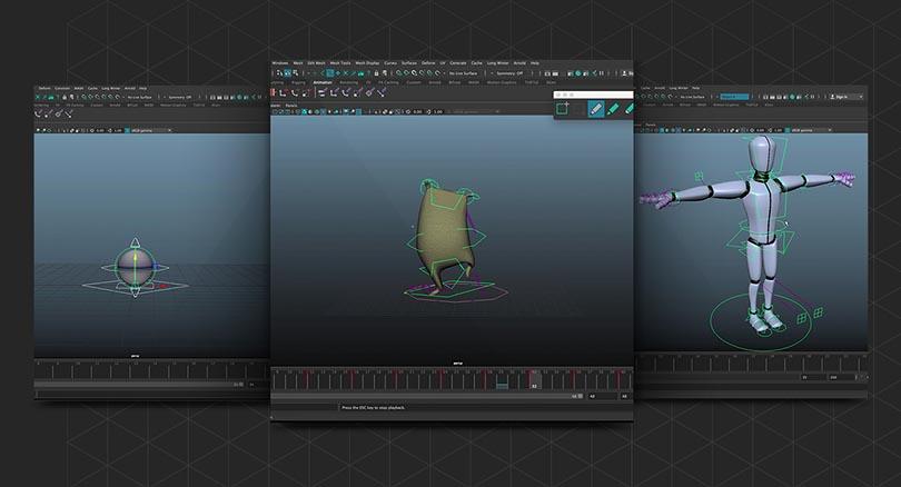 Maya三维动画制作零基础入门教程之使用手册循序渐进