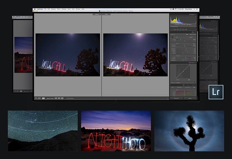 零基础学习夜景拍摄后期处理