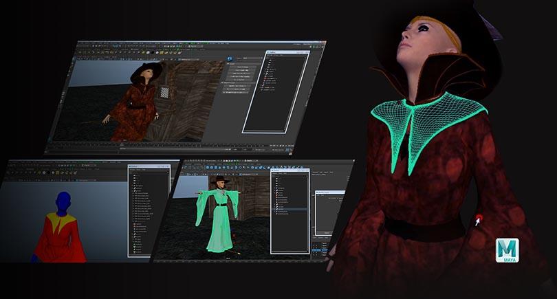 如何使用Ncloth进行布料模拟?