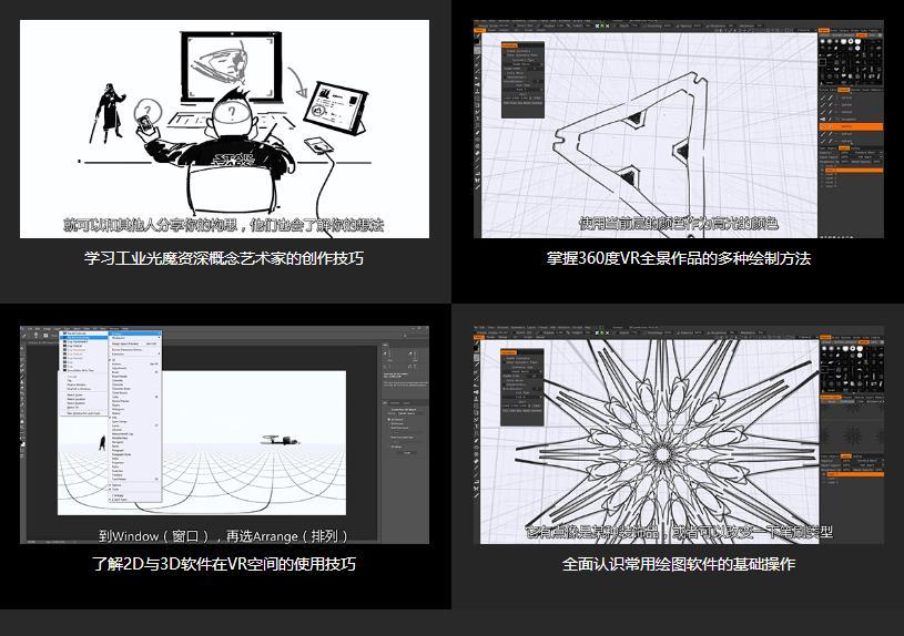 PS 360VR全景制作教程学习收获