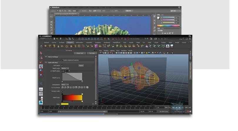 Maya三维动画特效制作实例教程解析之贴图的制作