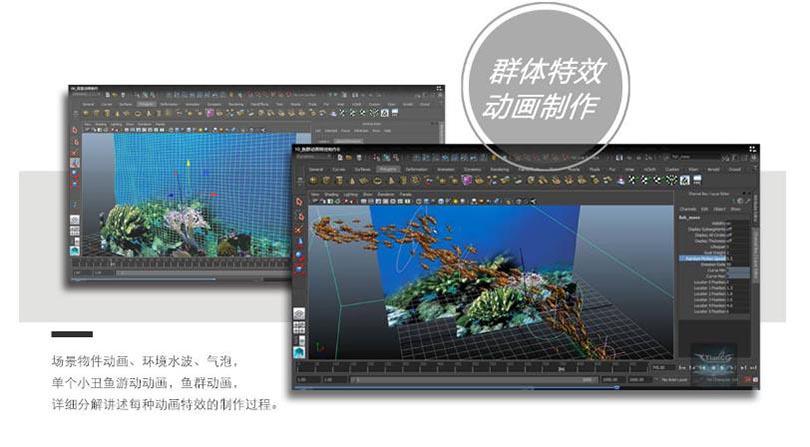 Maya三维动画特效制作实例教程解析之动画特效制作流程
