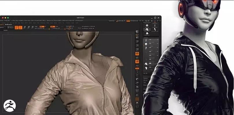 ZB+MD三维角色服装模型制作教程之布料模拟基础知识