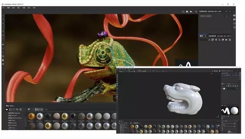 Substance Painter  2018 环境光、渲染、出图的应用