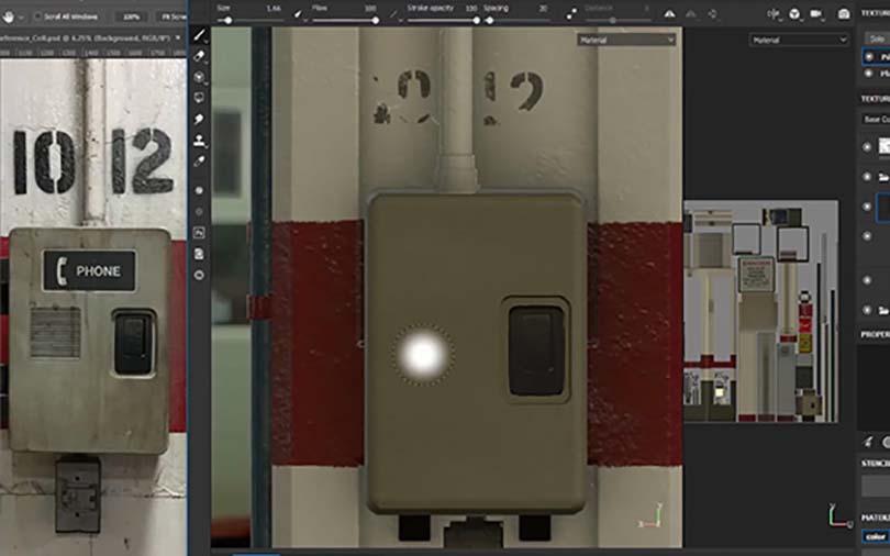 Substance Painter_PBR材质应用实战案例教程之贴图制作